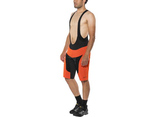 GORE WEAR C7 Pro 2in1 Bib Shorts Herren orange.com